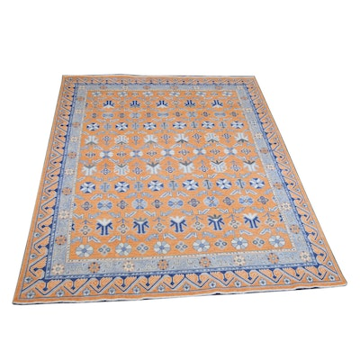 8' x 10' Hand-Knotted Indo-Persian Wool Rug from The Rug Gallery