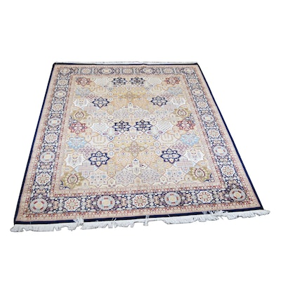 8' x 10' Hand-Knotted Pakistan Wool Rug from The Rug Gallery