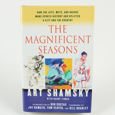 """Signed First Edition """"The Magnificent Seasons"""" by Art Shamsky"""