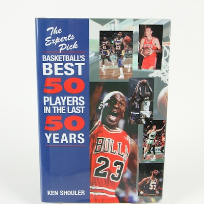 "Signed ""The Experts Pick Basketball's Best 50 Players in the Last 50 Years"""