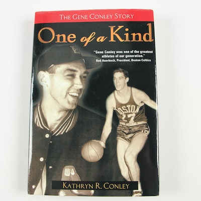 """Signed First Printing """"The Gene Conley Story: One of a Kind"""" by Kathryn Conley"""