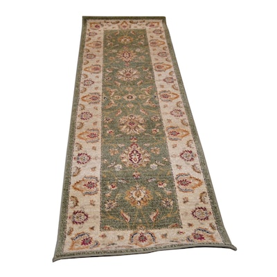 2'3 x 7'6 Machine Made Egyptian Synthetic Runner from The Rug Gallery