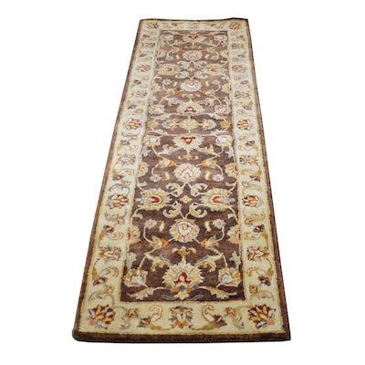 2'4 x 8' Tufted Indian Wool Runner from The Rug Gallery