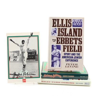 """First Edition """"Ellis Island to Ebbets Field"""" with Additional Sport Biographies"""