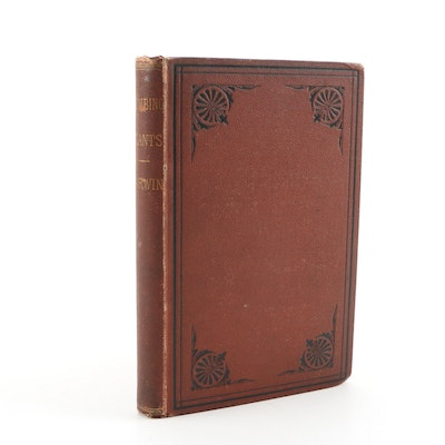 """1876 Darwin's """"Movements and Habits of Climbing Plants"""" First American Edition"""