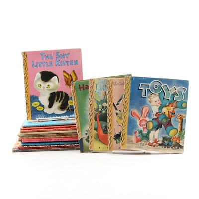 "First Edition ""Little Golden Books"" with Original Dust Jackets and Other Books"