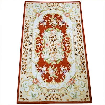 3' x 5' Hand knotted Wool Accent Rug