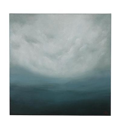"Sarah Brown Oil Painting ""Mare Pericolosi"""