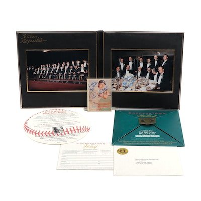1993 and 1994 Baseball Hall of Fame Tribute and All Star Game Invitations