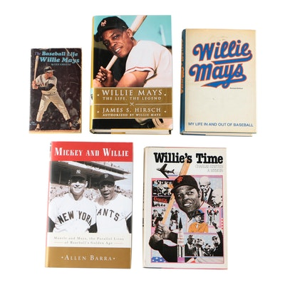 Willie Mays NonFiction Books