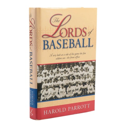 "Signed ""The Lords of Baseball"" by Harold Parrott"