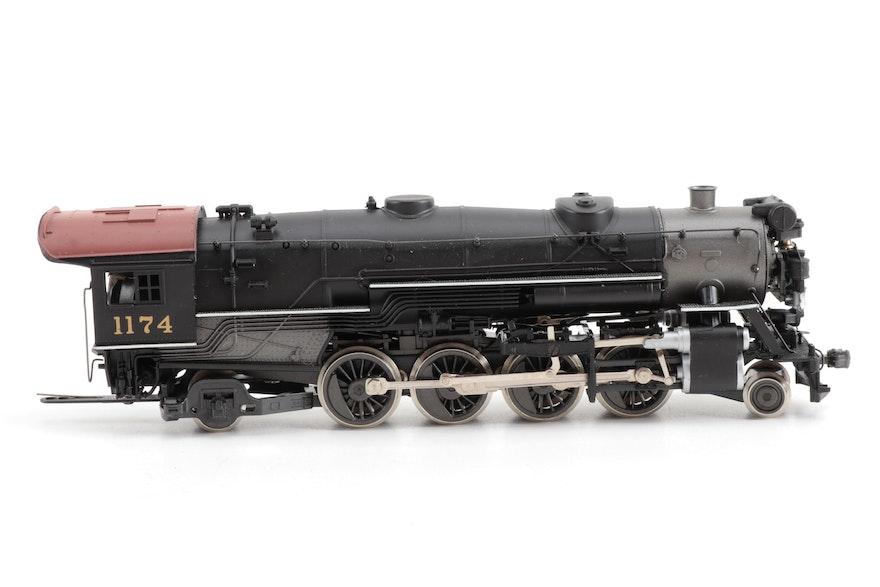 Ahm Ho Gauge Model Train Locomotives With Freight Cars