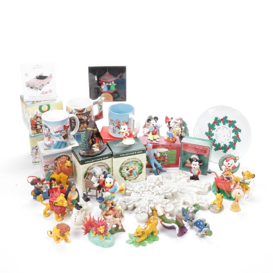 Franklin Mint, Disney, Hummel and Hallmark Christmas Décor