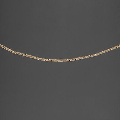 14K Yellow Gold Boston Style Chain