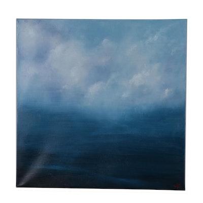 "Sarah Brown Oil Painting ""Nimbus"""