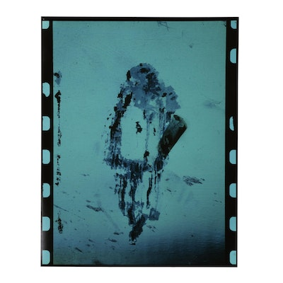 """Don Jim Cibachrome Photograph from """"Brogues/Scrapings"""" Series"""