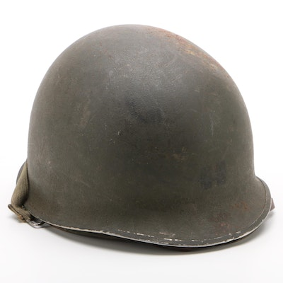 """WWII Army Ranger Battalion """"M1"""" Style Replica Helmet with Liner"""