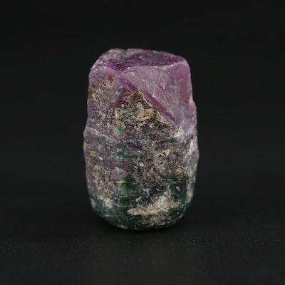 Loose Corundum Rough Cut Gemstone