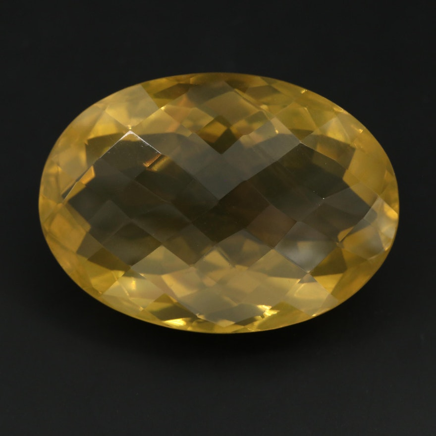 Loose 96.66 CT Citrine Gemstone
