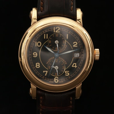 Franck Muller Master Banker 7000 MB 18K Rose Gold Wristwatch, 2002