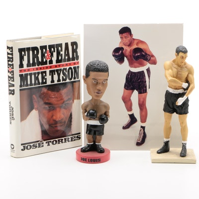 Louis, Marciano, Patterson and Tyson Boxing Items