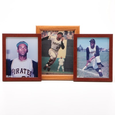 Framed Roberto Clemente Pictures
