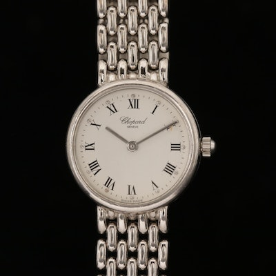 Chopard 18K White Gold Quartz Wristwatch