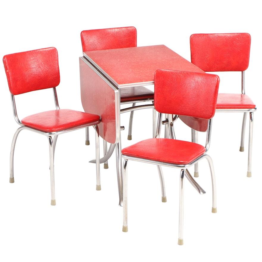 1950s Dinette Set in Red