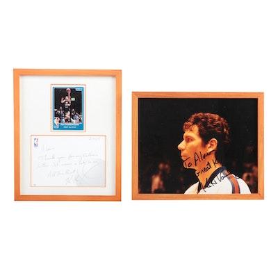Framed KiKi Vandeweghe Signed Items