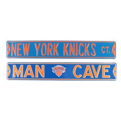 New York Knicks NBA Metal Wall Signs, Contemporary
