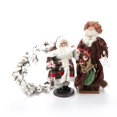 Characters by Marina Handmade Santa and Christmas Décor