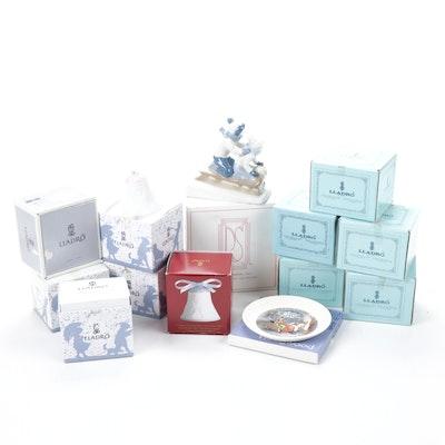 Lladró, Wedgwood and Paul Sebastian Porcelain Collectibles