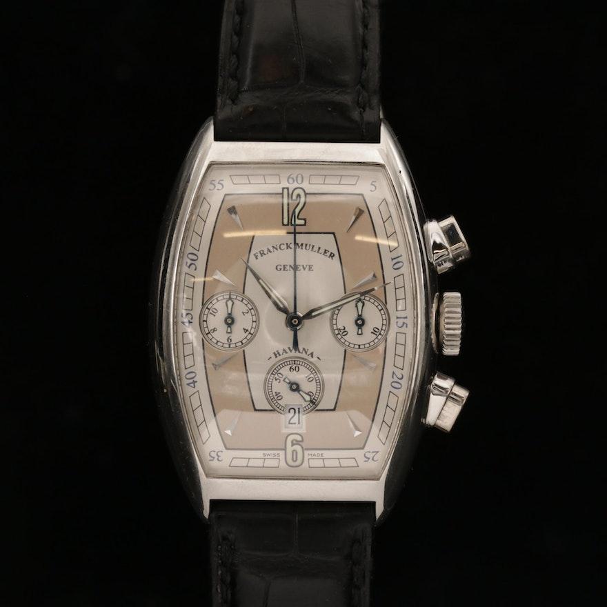 Franck Muller Casablanca Havana Automatic Chronograph Wristwatch