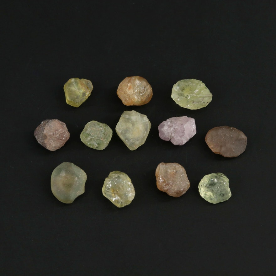 Loose 10.13 CTW Corundum Gemstones