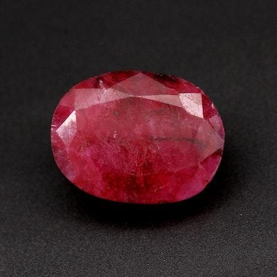 Loose 10.23 CT Sillimanite Gemstone