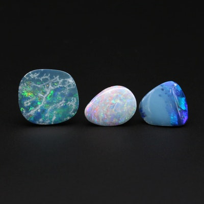 Loose Opal and Opal Doublet Gemstones