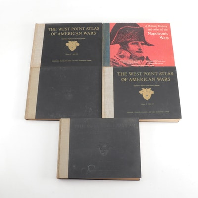 """""""The West Point Atlas of American Wars"""" and a Napoleonic War Book, 1960s"""