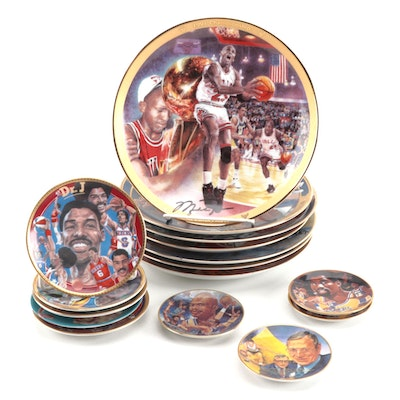 Basketball Portrait Ceramic Plates
