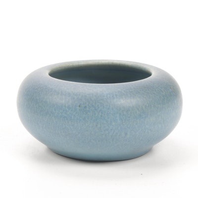 Rookwood Pottery Matte Glaze Earthenware Bowl, 1917