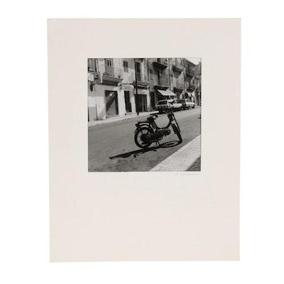 Rebecca Sharfman Street Scene Silver Gelatin Photograph