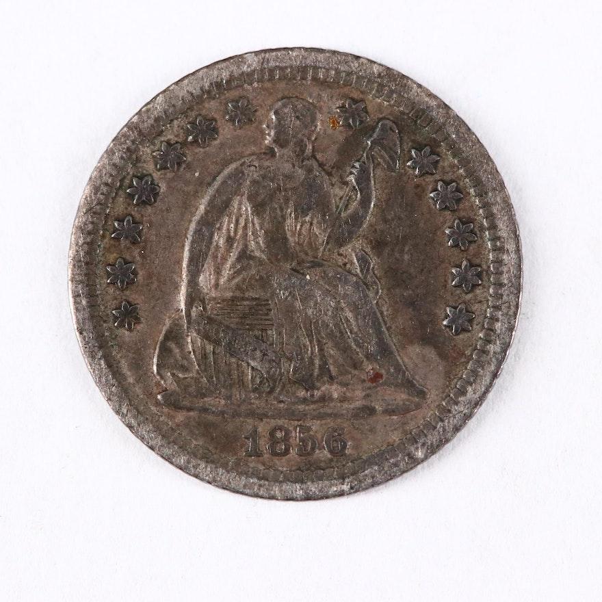 1856-O Seated Liberty Silver Half Dime