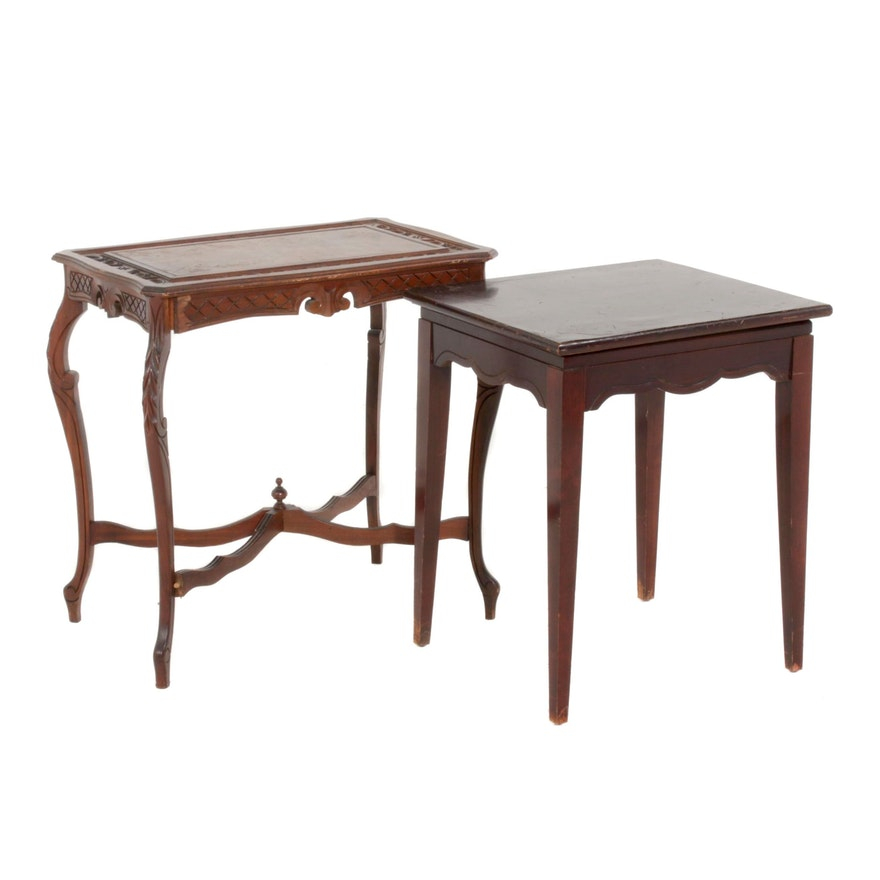 Hardwood Accent Tables