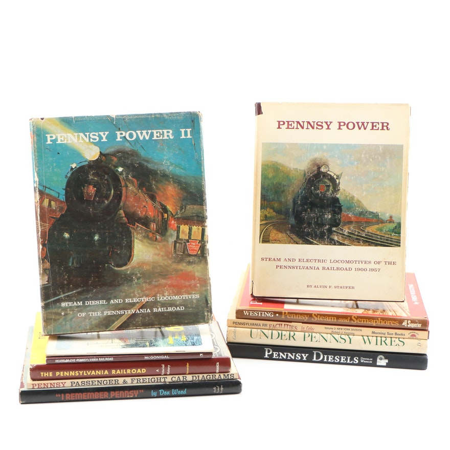 "Pennsylvania Railroad Book Collection including ""Pennsy Diesels"""