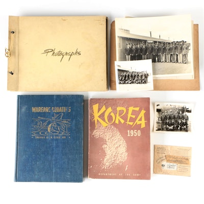 WWII and Korean War Books, Photographs, and Other Ephemera