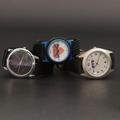 Knicks and NYU University Quartz Wristwatches