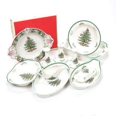 "Spode ""Christmas Tree"" Bakeware and Serveware"