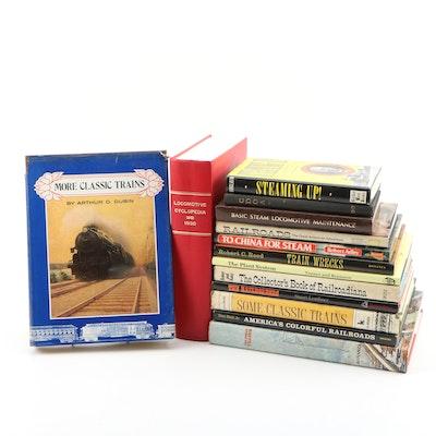 "Trains and Railroad Books featuring 1930 ""Locomotive Cyclopedia"""