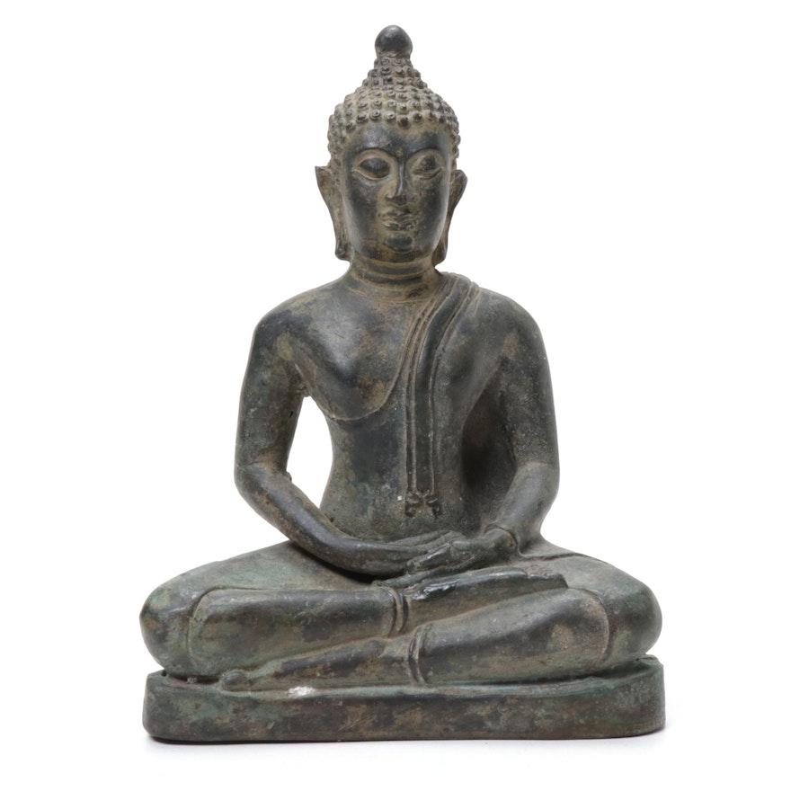 Bronze Shakyamuni Buddha Statuette