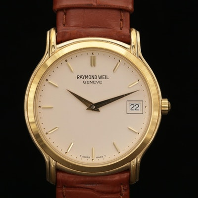 Raymond Weil Stainless Steel Quartz Wristwatch with Date