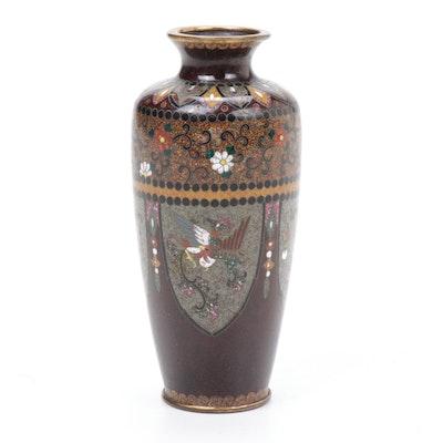 Japanese Cloisonné Enamel Miniature Vase